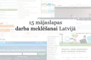 Darba sludinājumi Latvijā